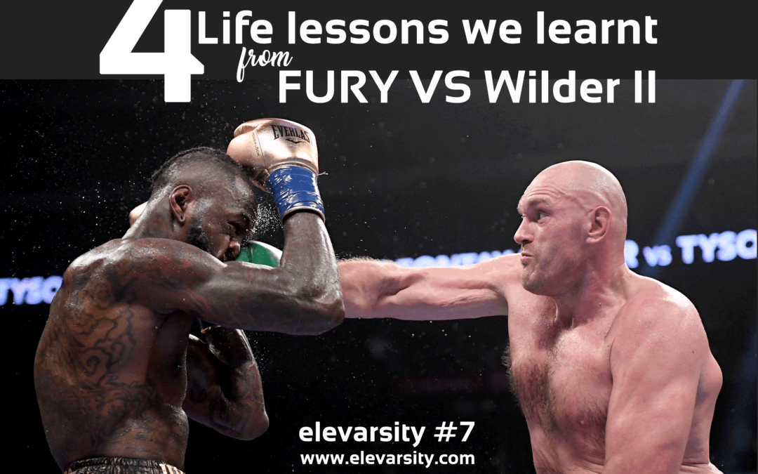 FURY vs Wilder II – 4 Life lessons we learnt